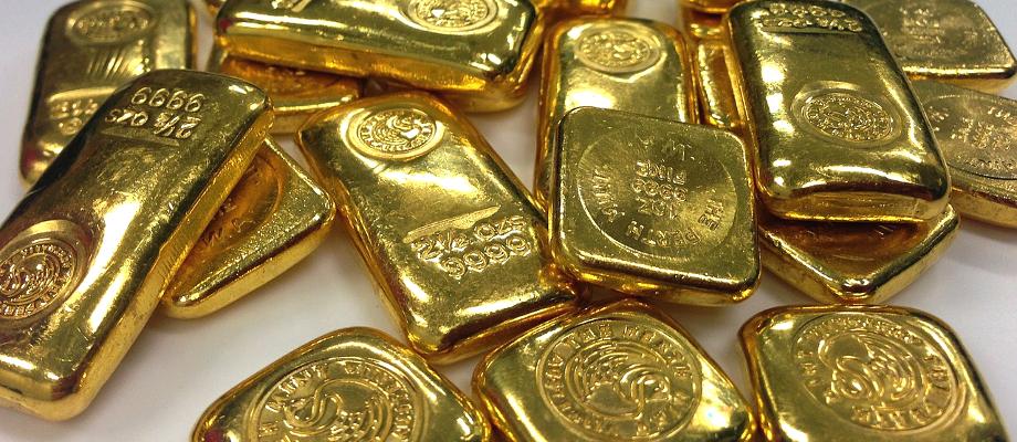 Lingots d'or 24 carats